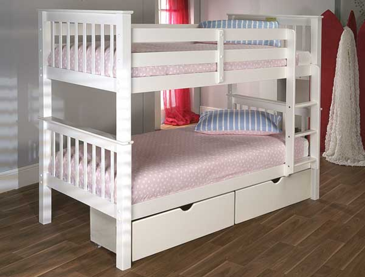 Picture of: Pavo Bunk Bed The Bed Factory