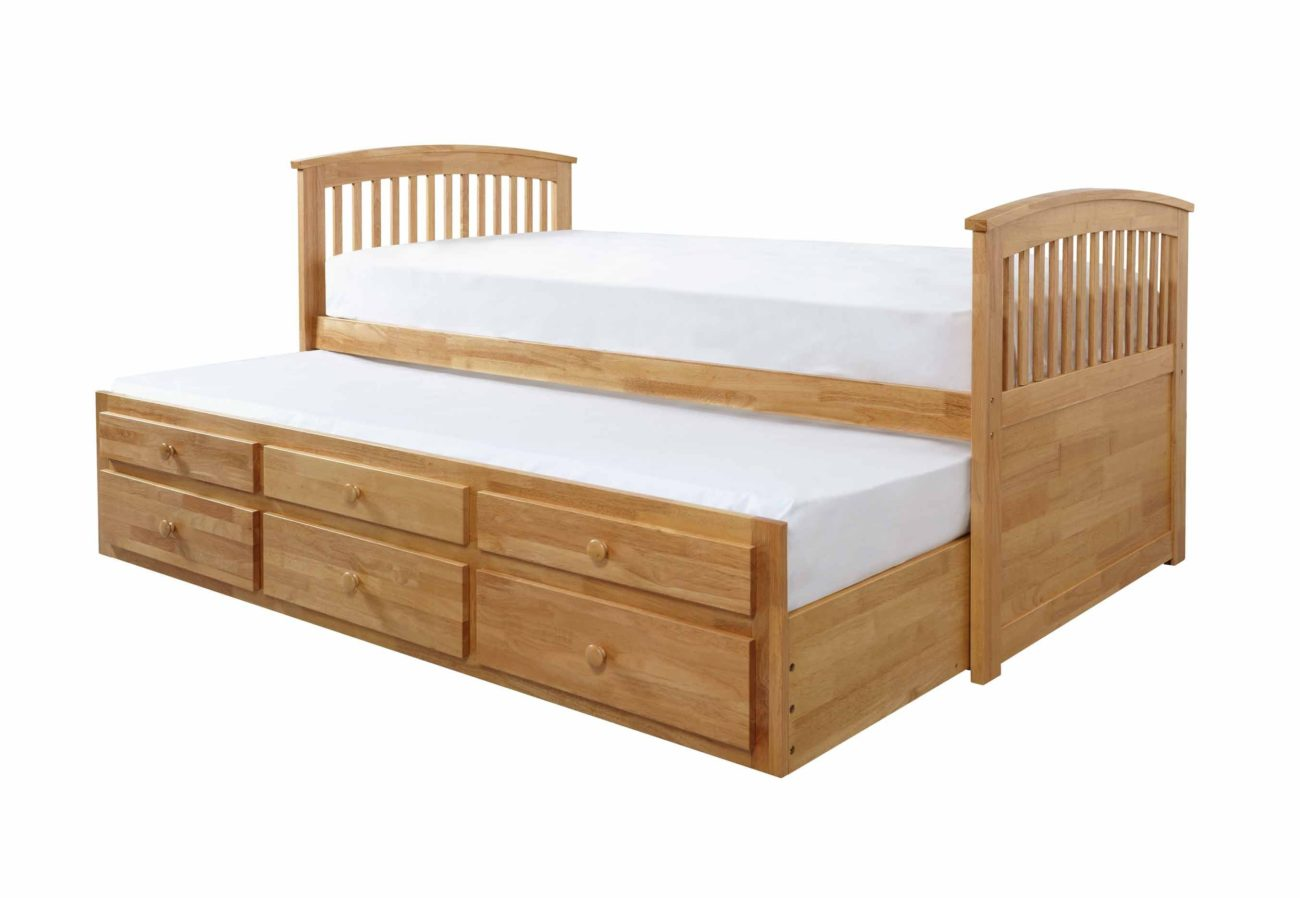 Marcel Captains Bed Frame - The Bed Factory
